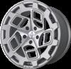 R8cm9 wheels   matte silver machined face 1