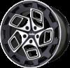 Radi8 r8cm9 wheels   black machined face  2