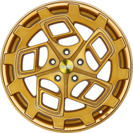 Radi8 r8cm9 wheels   gold brushed face   2