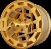 Radi8 r8cm9 wheels   gold brushed face   1
