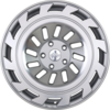 19X8.5 Radi8 r8t12 Wheels - Matte Silver/Machined Face (5X112/ET45)