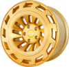 Radi8 r8t12 wheels   gold brushed face 1
