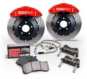 StopTech 6 Piston Front Big Brake Kit - 355x32mm (15+ A3, 15+ GTI)