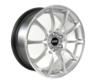18x8.5 VMR V701 Wheels - Hyper Silver (5x112/ET35/66.6)