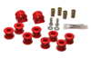 Energy Suspension 23mm Front Sway Bar Bushing Set - Red (99-06 Golf, 99-06 Jetta 2.0T)