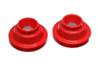 Energy Suspension Rear Coil Spring Isolators - Red (99-06 Golf, 99-05 Jetta)
