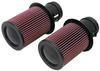 K&N Replacement Air Filters (10-14 Audi R8 5.2L V10)