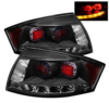 Spyder Auto LED Tail Lights - Black (00-06 Audi TT)