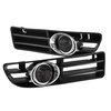 Spyder Auto OEM Style Fog Lights w/ Switch - Smoke (99-05 Jetta)