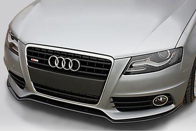 10 audi s4 deval carbon fiber front lip spoiler 01