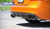 EuroGEAR DEVAL Carbon Fiber Rear Diffuser (13-14 B8.5 S5)