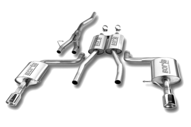 Borla Cat-Back Exhaust (02-08 A4 Quattro 1.8T/2.0T