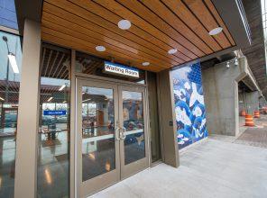 New Northside Entrance to Bellmore Station 01-29-19