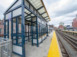 Flushing Main Street Platform B Waiting Area 08-31-18