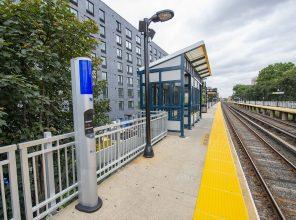 Flushing Main Street Platform and Waiting Area 08-31-18