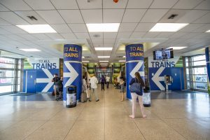 Hicksville Station Lobby and Waiting Area 09-06-18 (Photo by MTA Capital Construction/Trent Reeves)