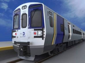 New M9 Rail Car Exterior Rendering