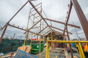 Construction of Station Building - Syosset Station - 12-14-18