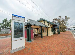 New Information Totem - Stony Brook Station - 12-14-18