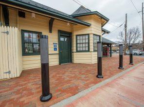 Platform-Side Entrance - Stony Brook Station - 12-14-18