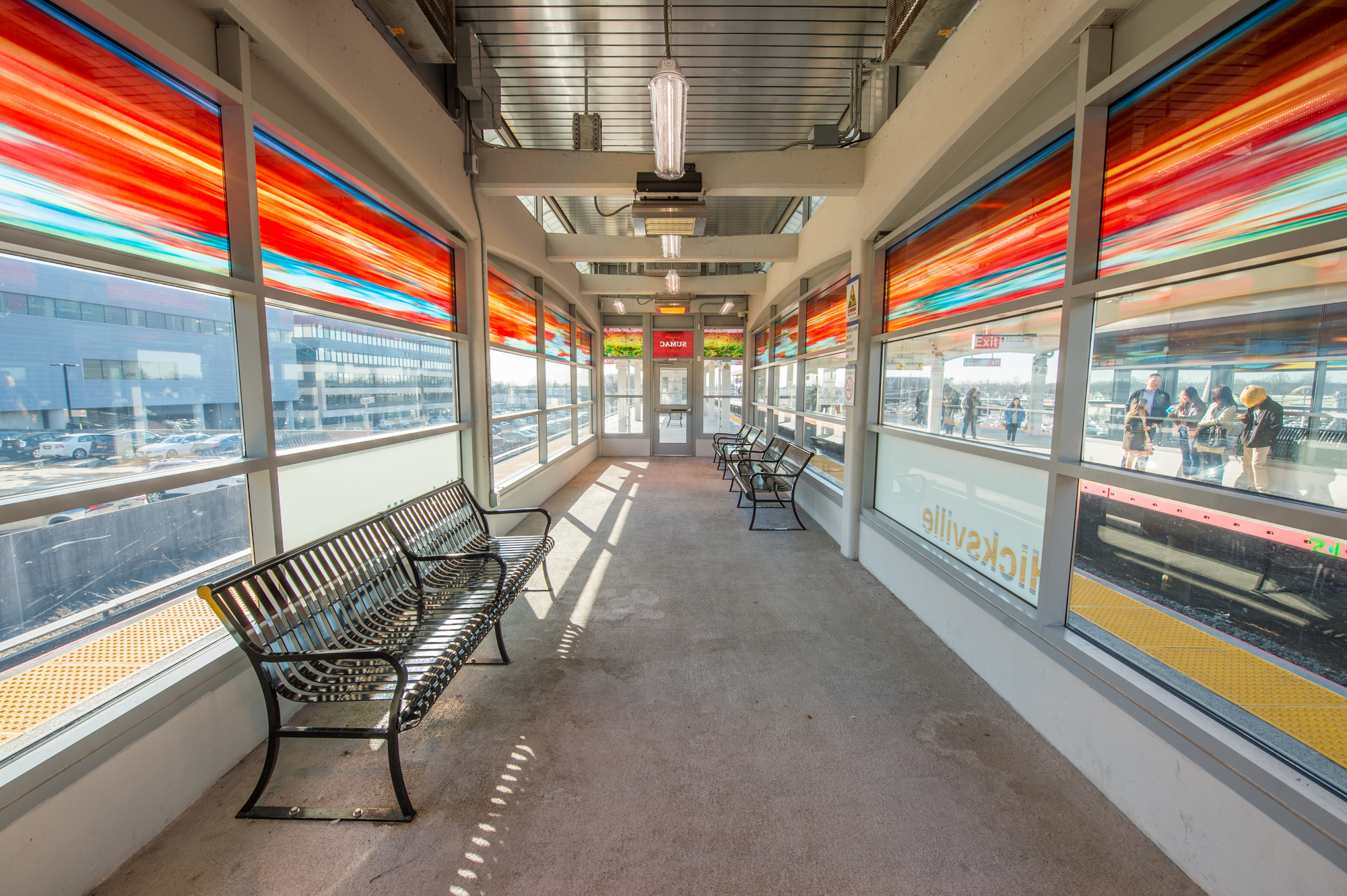Hicksville Station - 02-22-19 (Photo by MTA Capital Construction/Trent Reeves)