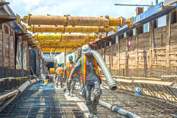 East Side Access - Tunnel D - Concrete Pour - 08-15-19