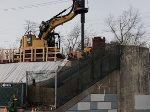 Carle Place Station - Construction - 01-19