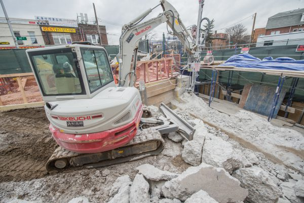 Construction of New Elevators at Murray Hill Station - 01-29-19