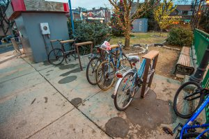 New Bike Racks Bayside Station 12-14-18