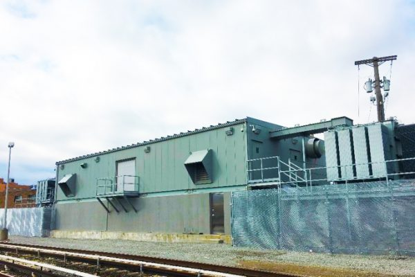 Long Beach Substation After Restoration (January 2018)
