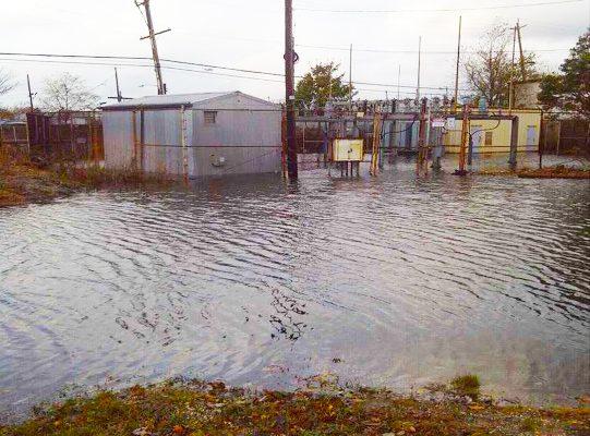 Oceanside Substation After Hurricane Sandy