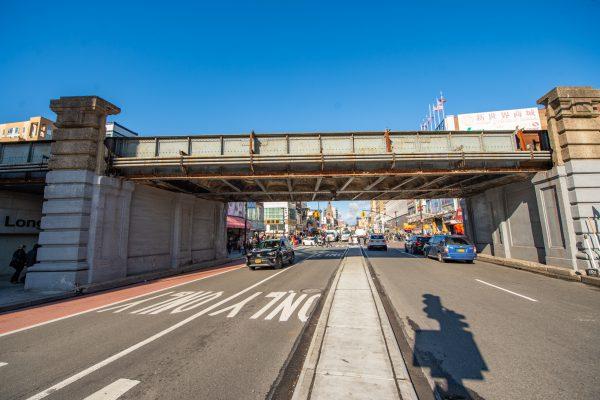Flushing Main Street Bridge 01-24-20