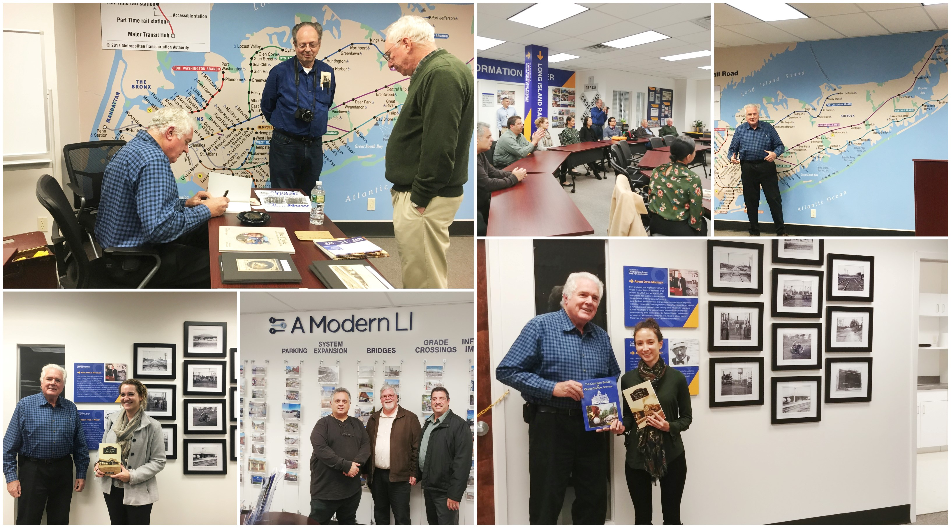 Dave Morrison Signs Book 11-27-18