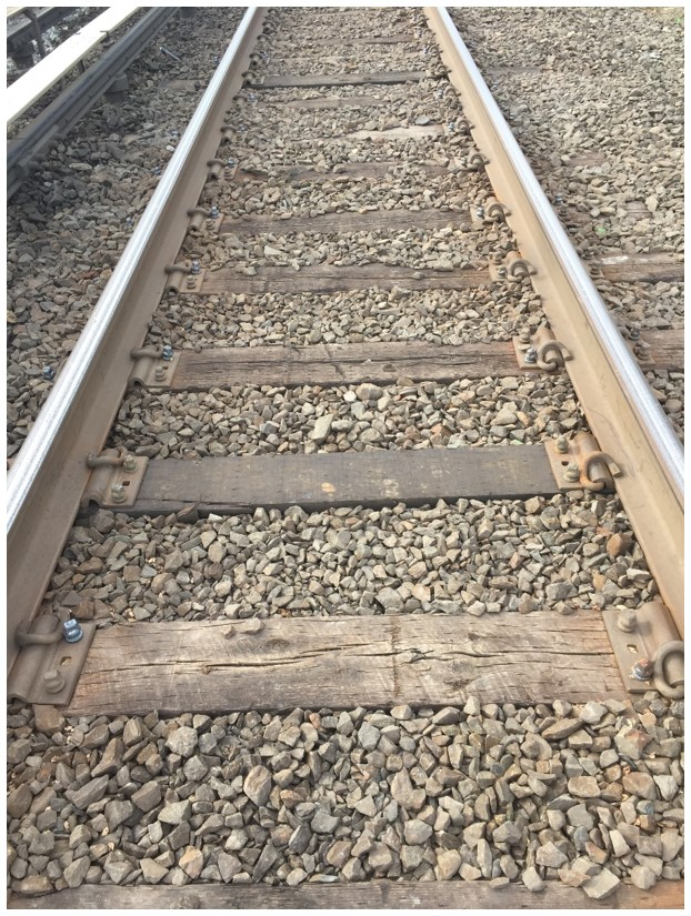 Typical Trackbed before Addition of Ballast