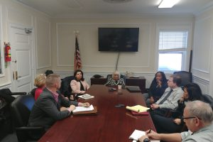 LIRR Expansion Project Team Meets with State Senator Anna Kaplan and North Hempstead Officials