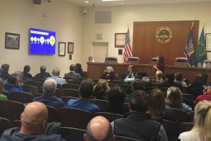 Westbury Mayor Peter Cavallaro Hosts Expansion Project Team Dialogue with Local Officials Regarding Carle Place Station Enhancement 01-15-19