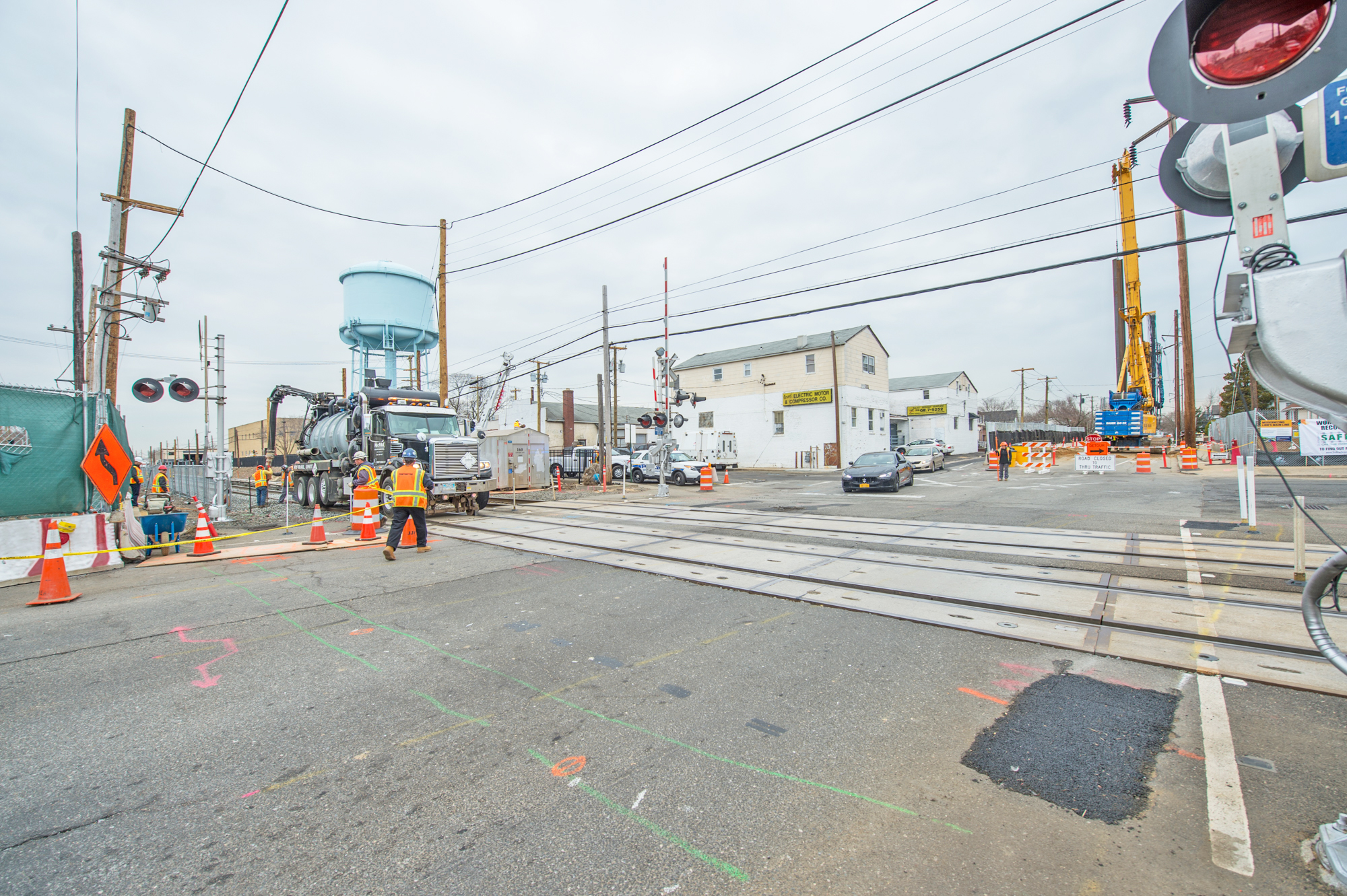 MTA Begins Major Construction at Covert Avenue in the