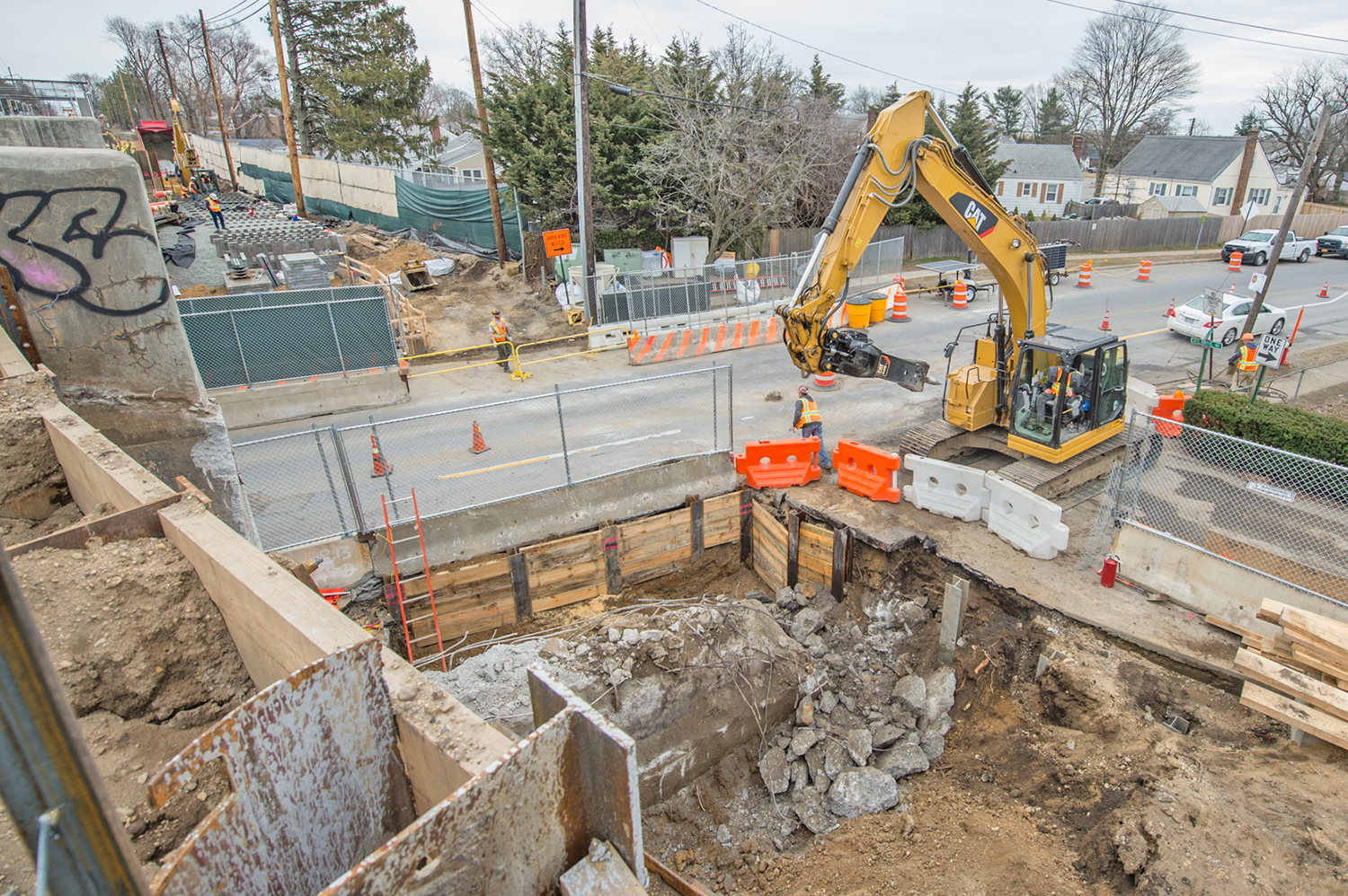 Cherry Lane Bridge Replacement 03-29-19