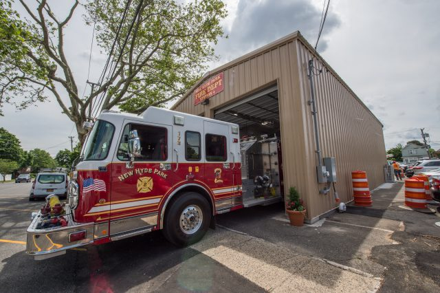 Temporary Firehouse at NHP Grade Crossing Elimination - 06-25-19