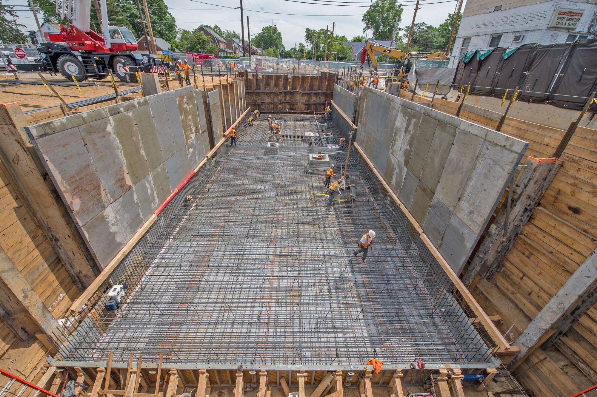 Covert Avenue Grade Crossing Elimination Elimination Bridges & Underpass - 06-24-19
