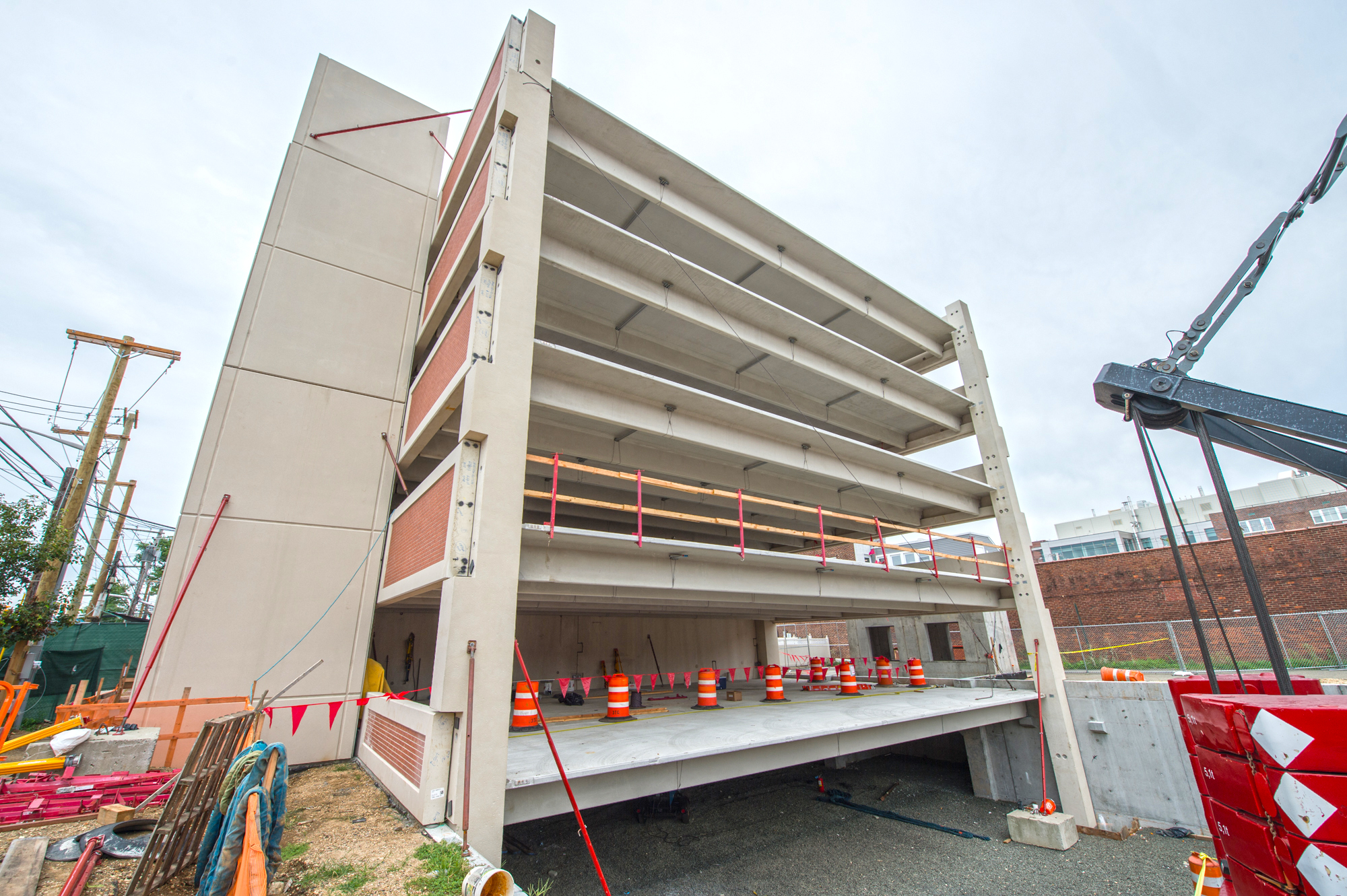 Mineola Harrison Parking Garage - 08-27-19