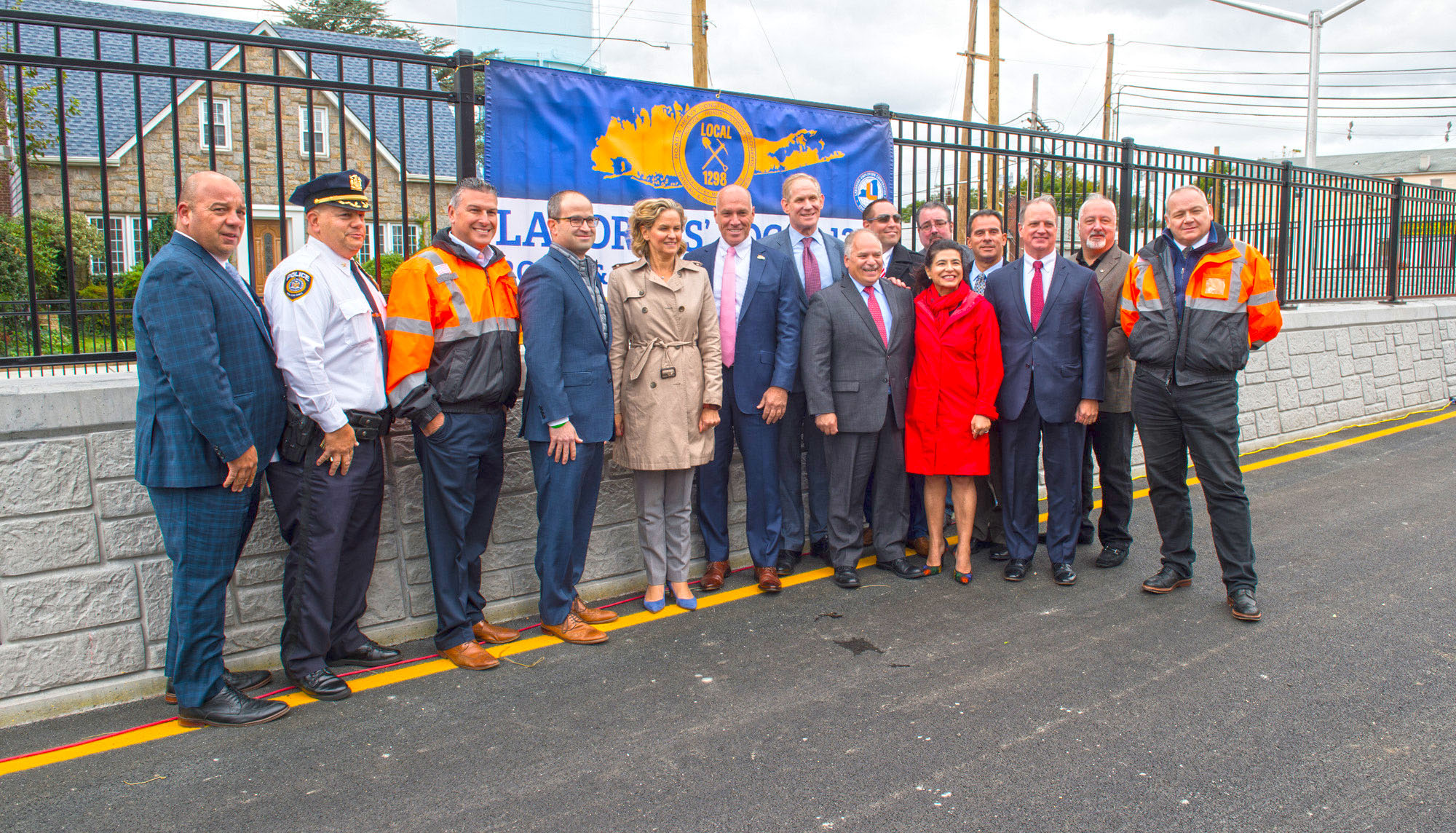Covert Avenue Grade Crossing Offical Opening of Underpass - 10-17-19