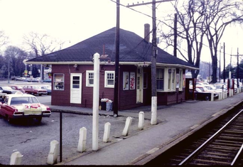 Merrick Station - Merrick Then and Now