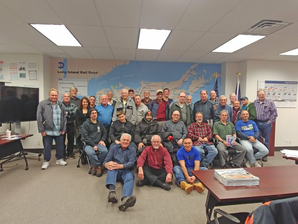 Talking Trains with Sunrise Trail Chapter of NRHS