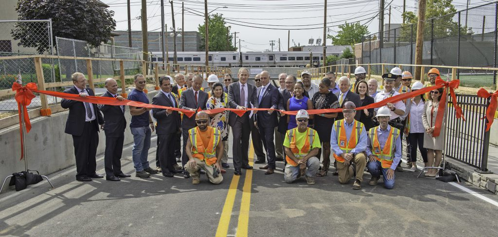 Grade Crossing Elimination Ribbon Cutting