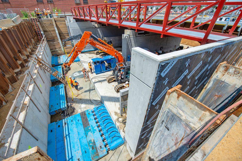 New Hyde Park Grade Crossing Elimination - 07-11-20