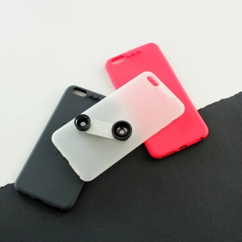 iPhone 6pus Case with 4 Lens System