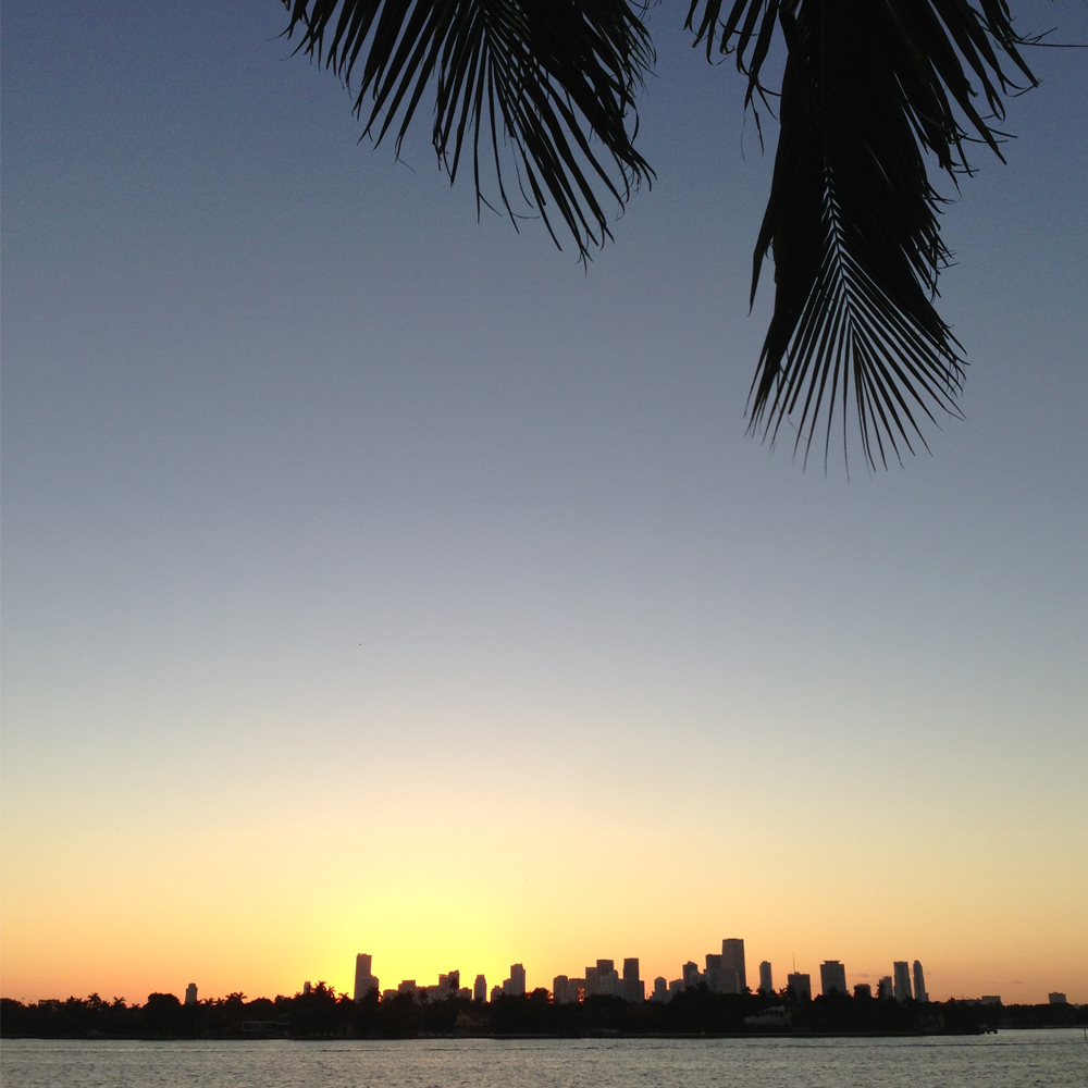 Miami feels like a different world before six am.