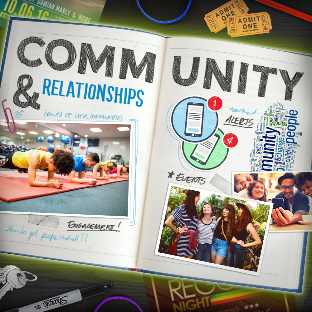 how to build relationships within the community