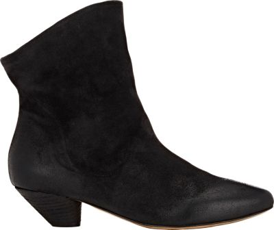 'Livelina' slouchy deer leather ankle boots